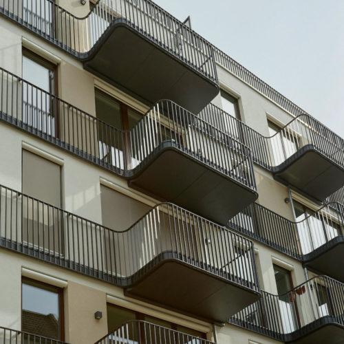 Eigentumswohnungen in Mehrfamilienhaus